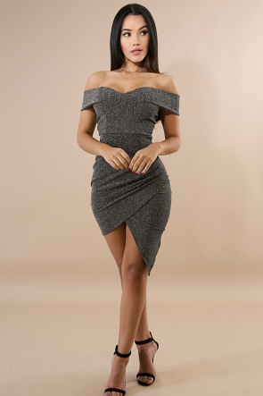 Ace Heart Shine Body-Con Dress