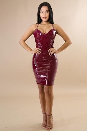 Gatubela Tight Bodycon Midi Dress