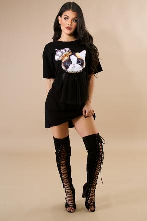 Queen Kitty Dress