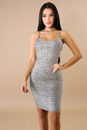 Rock Shine Body-Con Dress