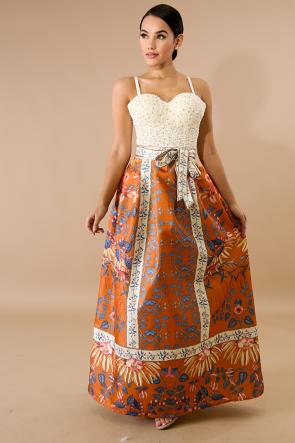 Shimmer Shine Maxi Skirt