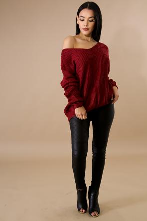 Corset Sweater Top