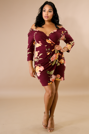 Blossom Body-Con Dress