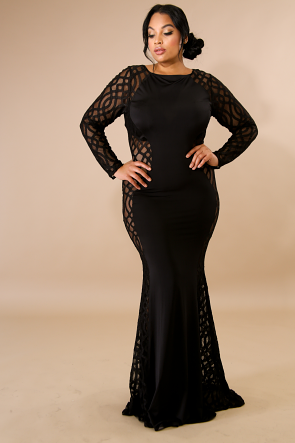 Glamorous Fall Maxi Dress