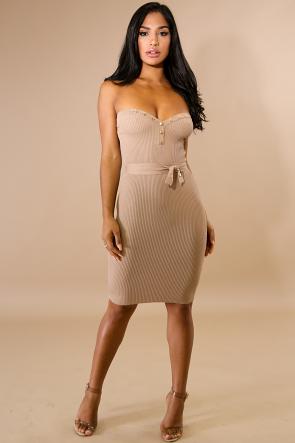 Sweet Jersey Knit Dress