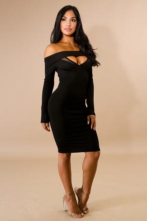 Venechia Midi Body-Con Dress