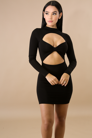 Bow Baby Body-Con Dress