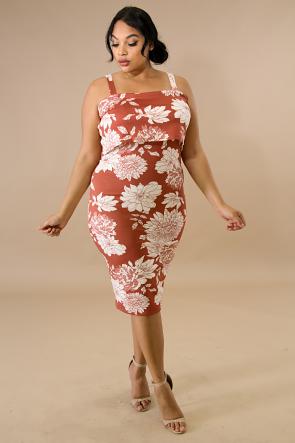 Petunia Flare Body-Con Dress
