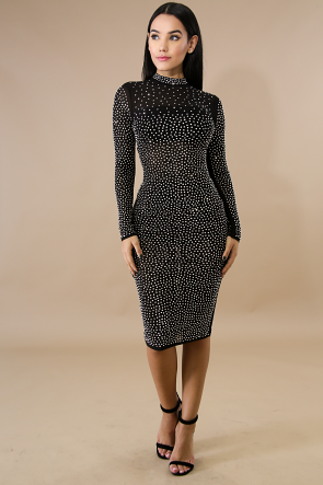 Diamond Girl Body-Con Dress