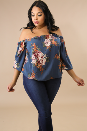 Silky Rose Top