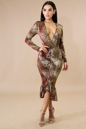 Sizzling Sparkle Dress