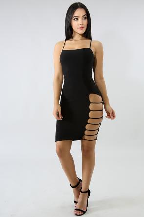Ladder Sexy  Body-Con Dress