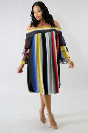 Color Dyes Dress