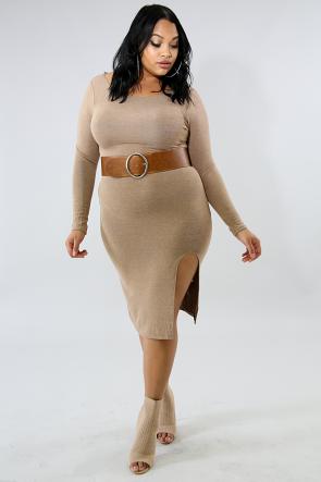 Basic Midi Dress