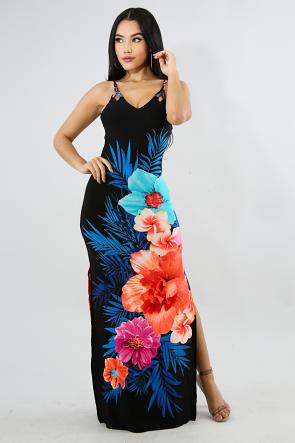 Honolulu Braid Spring Dress