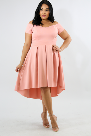 Dolly Flare Long Tail Dress