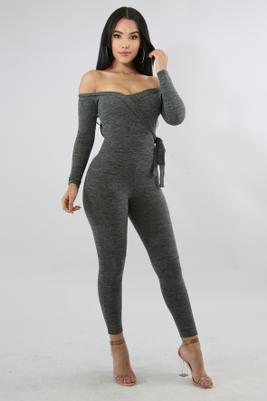 Knit Lounge Jumpsuit