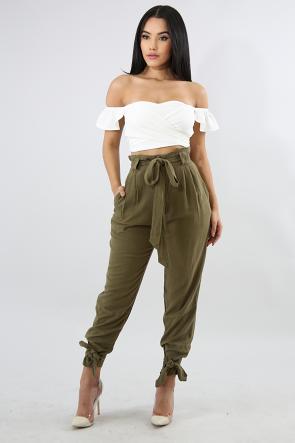 Boxy Linen Pants