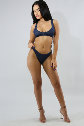 Denim Bikini Set