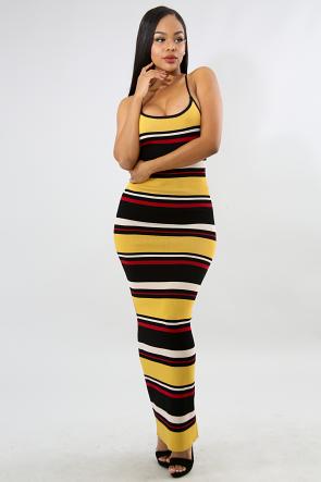 Maxi Rib Knit Dress