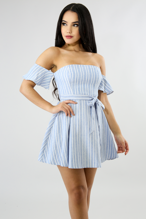 Accordion Dolly Flare Dress
