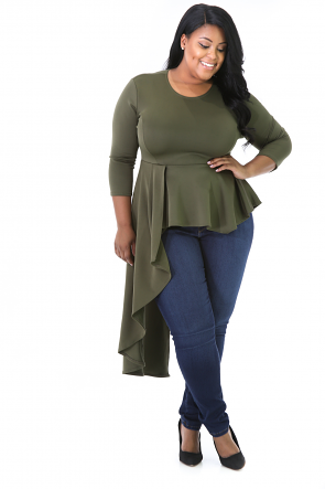 Miss Mary Flare Top