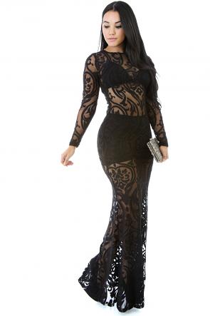 See Me through Maxi Dress