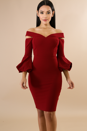Ever After Clinched Body-Con Dress
