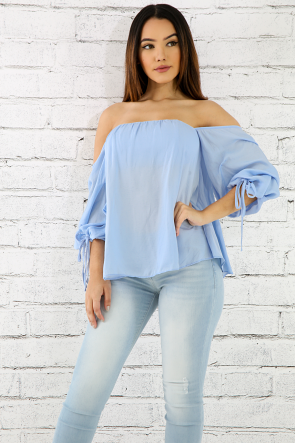 Sweetheart Off Shoulder Top