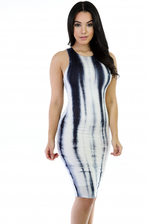 Happy Tie-Dye Midi Dress II