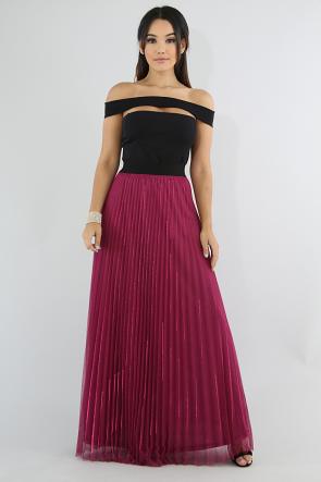 Sun Shine Pleated Skirt