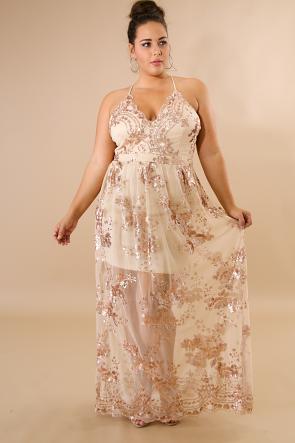 Bella Sequin Maxi Dress