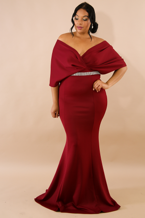 Elegance Glam Maxi Dress