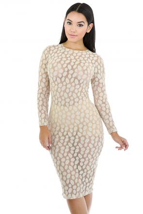 Pock A Dot Dress