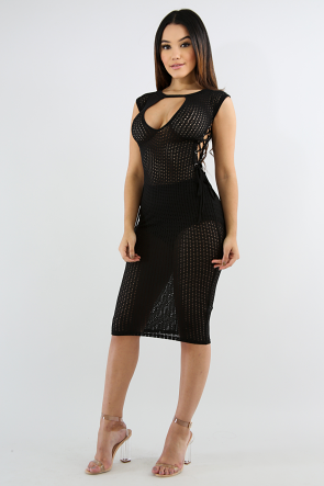 Net Corset Dress