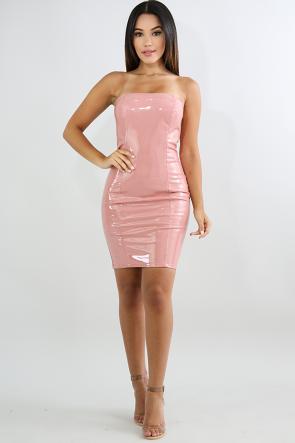 Barbie Tube Mini Dress