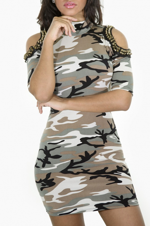Studded Camouflage