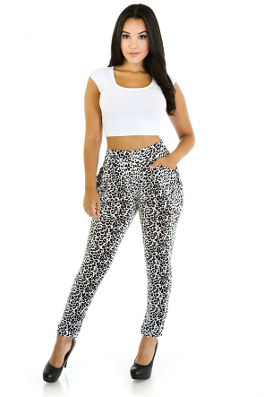 LLife Leopard Pants