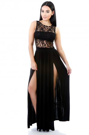 Noble Position Maxi Dress