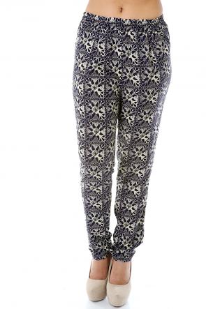 Elegant Floral Pants