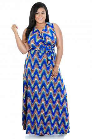 ZigZag Mix Dress