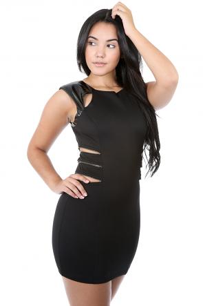 Zip Sides Dress
