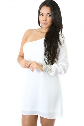 Stone Cufflings Dress