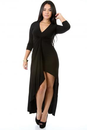 M Slit Maxi Dress