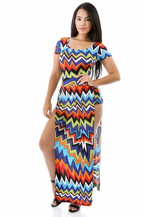ZigZag Paint Dress