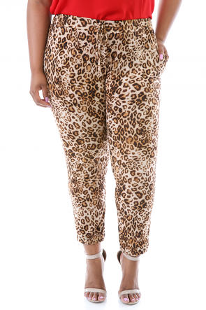 Cheetah Print Pants