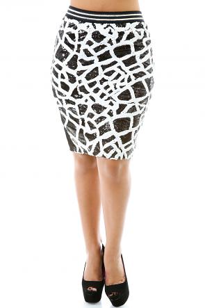 Enchanted Glittery Skirt