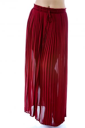 Slay Pleated Skirt