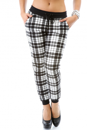 Checker Box Pants