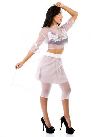 Special Chiffon Ways Skirt